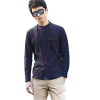 Men Long Sleeve Casual Shirts