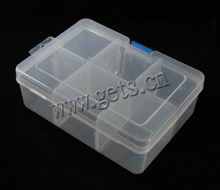 plastic bead container rectangle gets