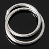 Sterling Silver Soldered Jump Ring, 925 Sterling Silver, Donut, plated, more colors for choice, 8x8x0.7mm, Hole:Approx 6.5mm, Sold By PC