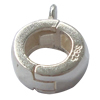 Sterling Silver Loop Bail, 925 Sterling Silver, Donut, plated, more colors for choice, 9x12mm, Hole:Approx 5mm, Sold By PC