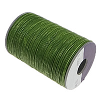 Polyester Cord, with plastic spool, with wax, more colors for choice, 0.5mm, Approx 112m/Spool, Sold By Spool