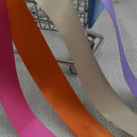Polyester Ribbon, mixed colors, 100Bags/Lot, 5m/Bag, Sold By Lot