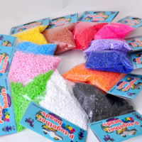 Hama Fuse Beads, Plastic, Column, mixed colors, 2.6mm, Approx 3100PCs/Bag, Sold By Bag