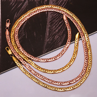 comeon® Jewelry Necklace, Zinc Alloy, plated, more colors for choice, 6mm, Length:Approx 19 Inch, Sold By Strand
