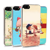 Customized Mobile Phone Cases, Silicone, Rectangle, 3D effect & different styles for choice & different designs for choice, Sold By PC