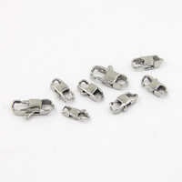 Stainless Steel Lobster Claw Clasp, different size for choice, Sold By PC