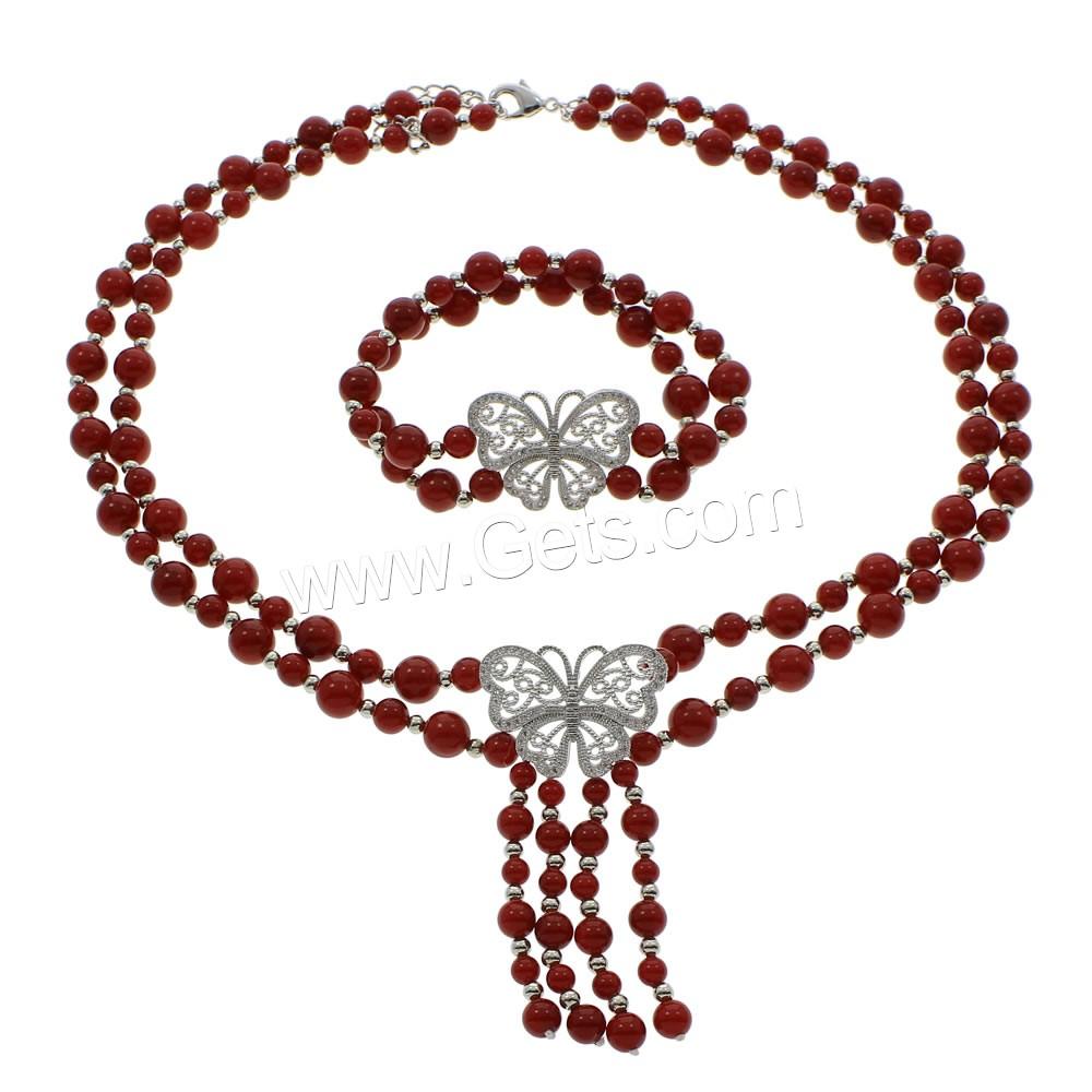 South Sea Shell Jewelry Sets bracelet necklace with Brass ...