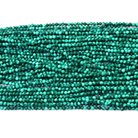 Synthetic Malachite Beads, Round, different size for choice, Hole:Approx 0.5mm, Length:Approx 16 Inch, Sold By Strand