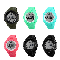comeon® Women Jewelry Watch, Silicone, with Plastic, LED & for woman & waterproof, more colors for choice, 44mm, Length:Approx 8.4 Inch, Sold By PC