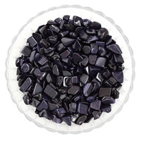 Blue Goldstone Beads, Nuggets, no hole, 7-11mm, 50G/Bag, Sold By Bag