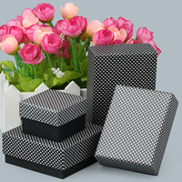 Cardboard Jewelry Set Box, Rectangle, different styles for choice, Sold By PC