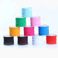 Crystal Thread, with plastic spool, elastic, more colors for choice, 0.8-1mm, Sold By Spool
