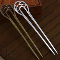 Hair Pins, Zinc Alloy, plated, more colors for choice, lead & cadmium free, 156x33mm, Sold By PC