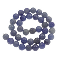 Blue Aventurine Bead, Round, different size for choice, Hole:Approx 1mm, Length:Approx 15 Inch, Sold By Strand