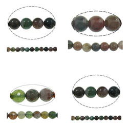 Natural Indian Agate Beads