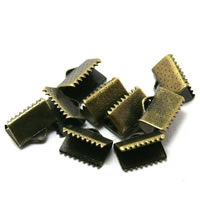 Brass Ribbon Crimp End