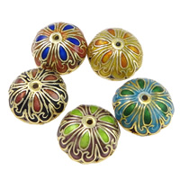 Smooth Cloisonne Beads