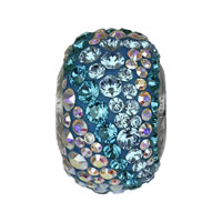 CRYSTALLIZED™ Elements #82033 BeCharmed Pavé Water Crystal Beads