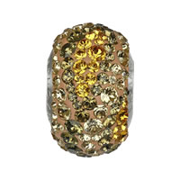 CRYSTALLIZED™ Elements #82013 BeCharmed Pavé Earth Crystal Beads