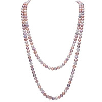 Natural Freshwater Pearl Long Necklace