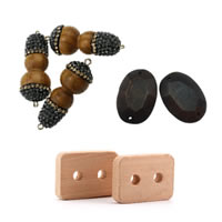 Wood Jewelry Connector