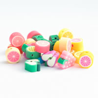 Fruit Polymer Clay Beads
