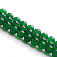Natural Green Agate Beads
