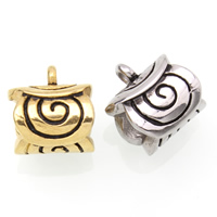 Stainless Steel Bail Bead