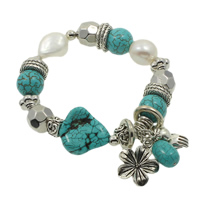 Turquoise Pearl Bracelets