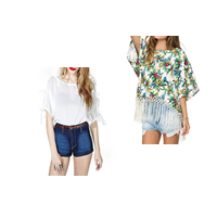 Women Five Point Sleeve Blouses