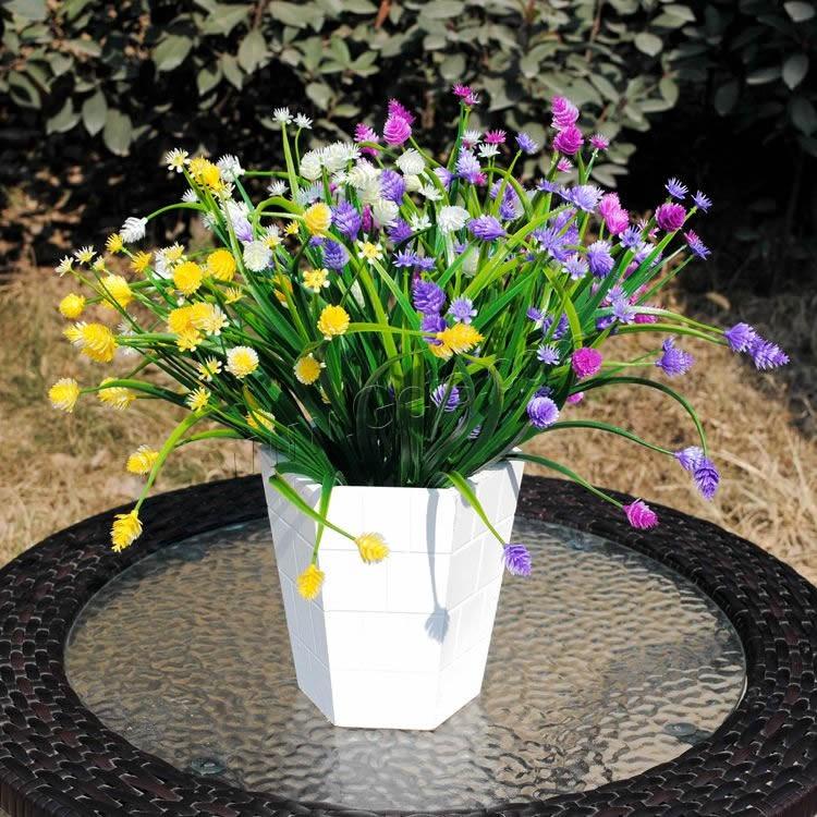 artificial flower home decoration plastic