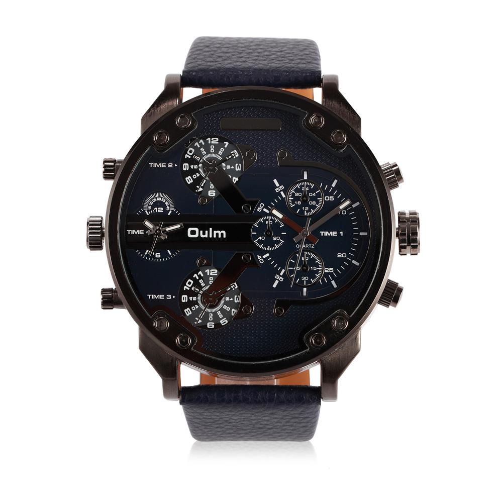Наручные часы с большим циферблатом / Интернет